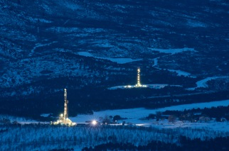 Natural gas drilling and surrounding pollution problems